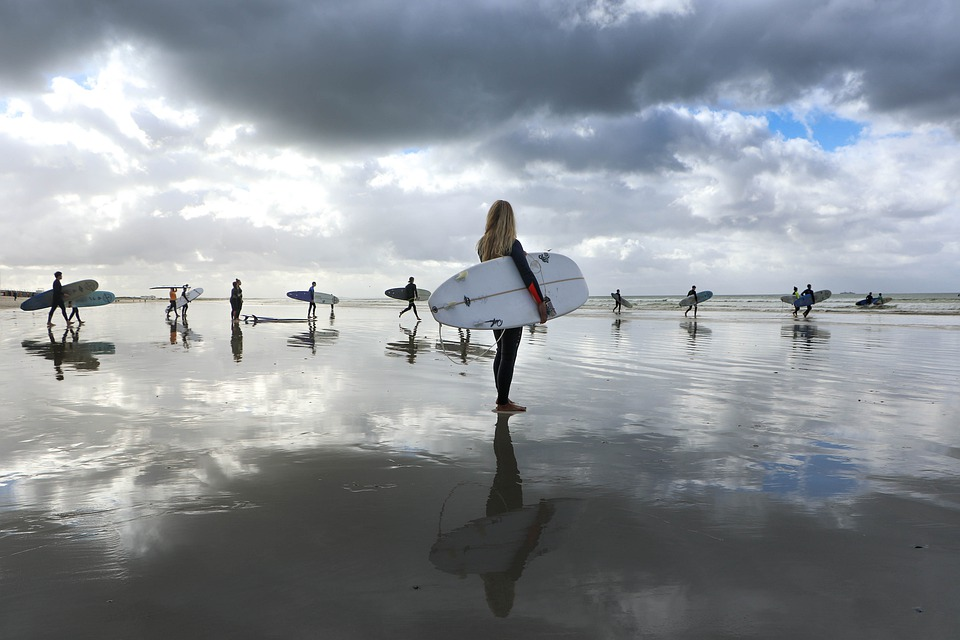 Les meilleurs spots de surf à visiter en camping-car